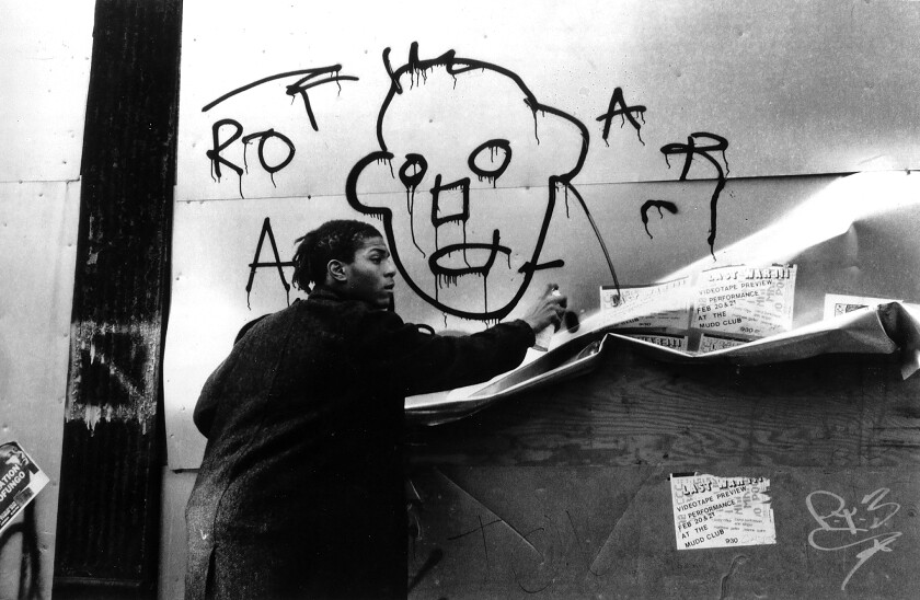 Review: Jean-Michel Basquiat's star turn ignites the New Wave time capsule 'Downtown 81'