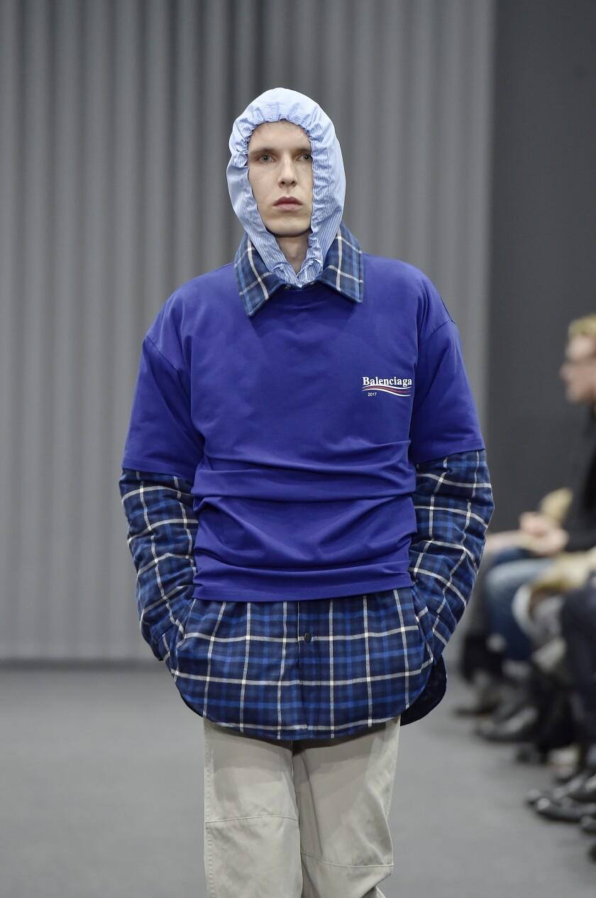 Balenciaga men's fall 2017 runway