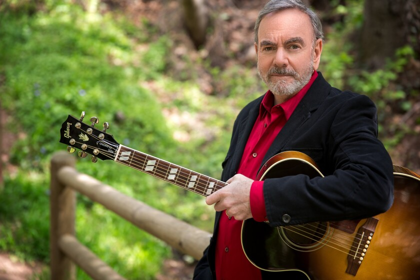 """Singer-songwriter Neil Diamond is releasing a new holiday album titled """"Acoustic Christmas"""" for 2016."""