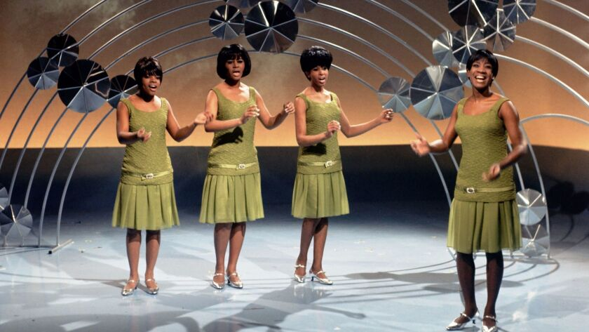 Patti LaBelle and her Belles in the 1960's.