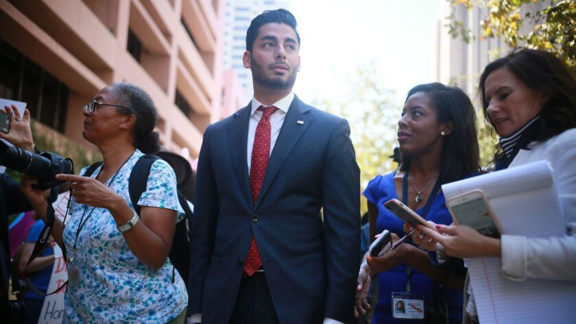 Duncan Hunter and His Wife Arraigned on Corruption Chargers
