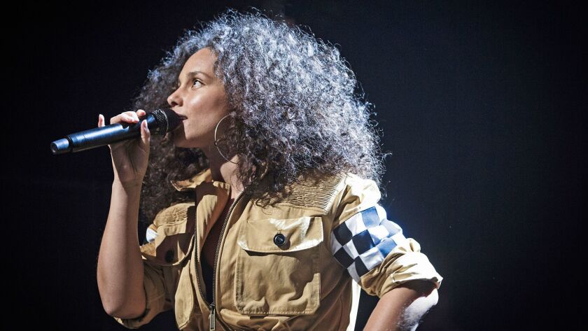 Alicia Keys is showcased in a series of performances in New York City, on PBS.