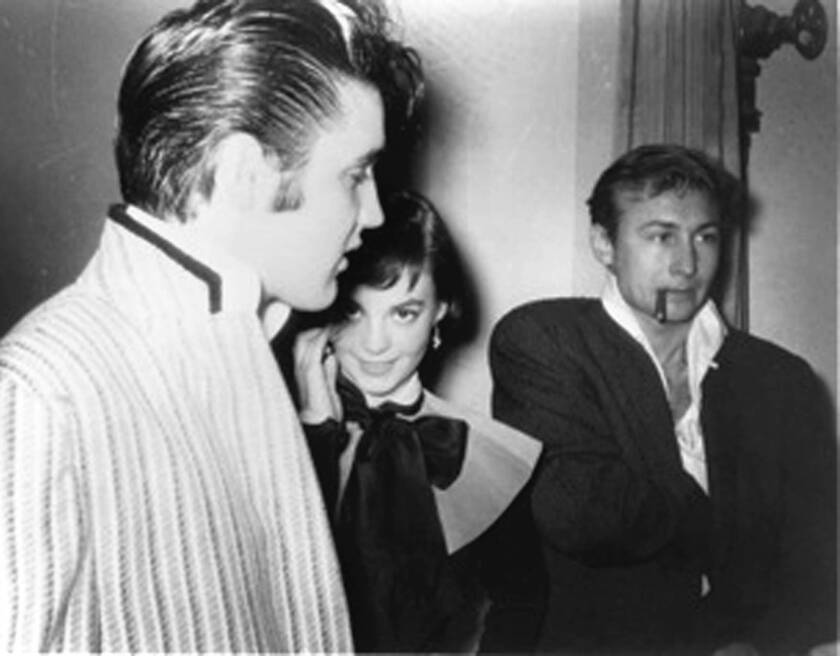Actor Nick Adams chronicled time spent with Elvis Presley