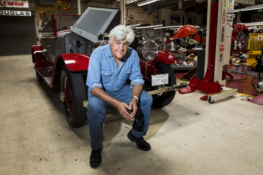 Jay Leno S Garage Premiere Was Most Watched In Cnbc History Los