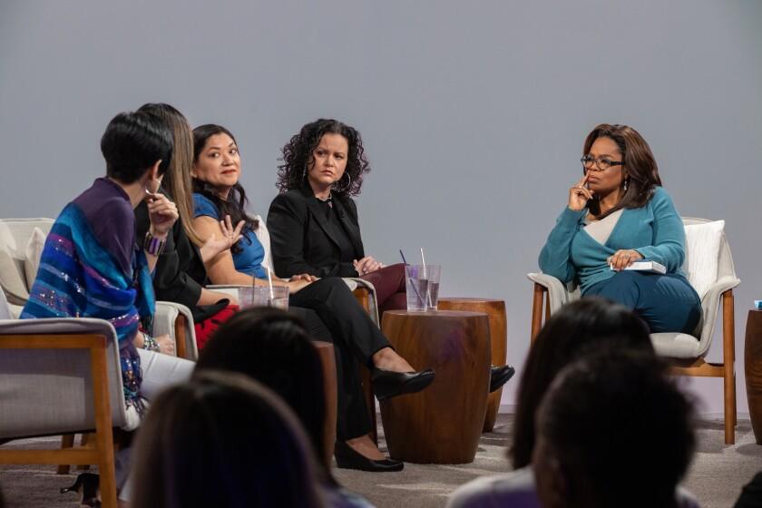 Oprah's Book Club discusses American Dirt