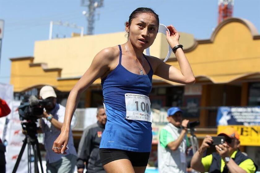 La mexicana Guadalupe González, subcampeona olímpica de la marcha de 20 kilómetros, reconoció hoy que defender el título de los Mundiales por equipo en casa de las atletas chinas será difícil, pero confía en derrotarlas y ganar oro. EFE/ARCHIVO