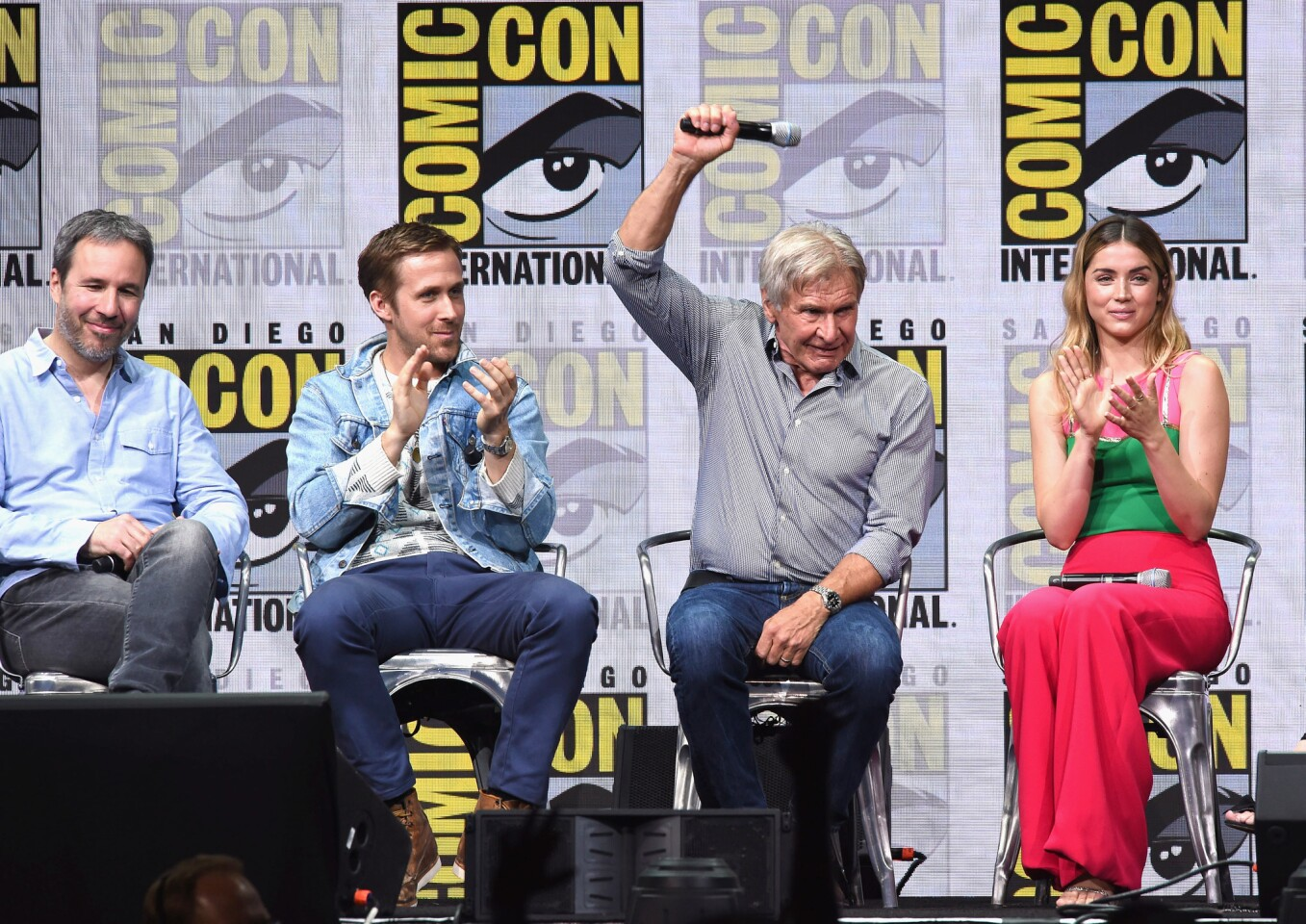 Harrison Ford, Ryan Gosling panel,  Blade Runner