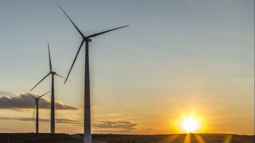 Sempra's subsidiary in Mexico recently acquired the Ventika wind generation facility, about 35 miles