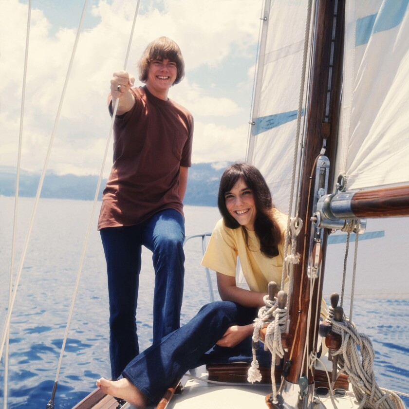Photo of CARPENTERS and Karen CARPENTER and Richard CARPENTER