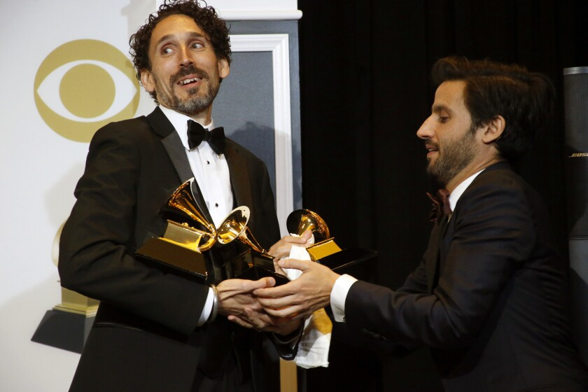 Grammys 2019: Jazz trumpeter John Daversa lifts up Dreamers