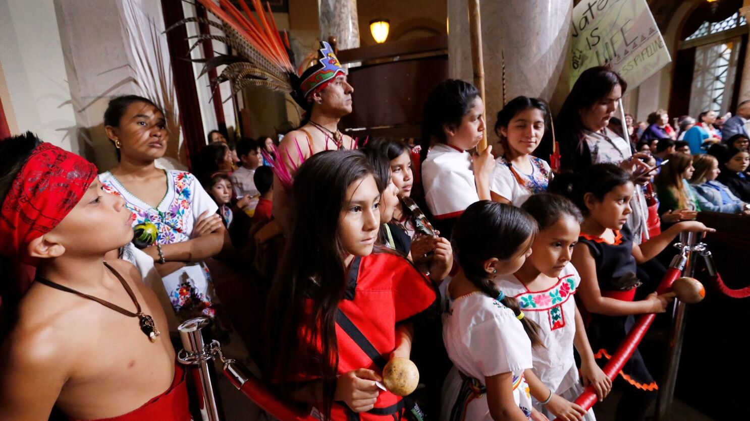 Why L.A. is right to replace Columbus Day with Indigenous Peoples Day - Los  Angeles Times