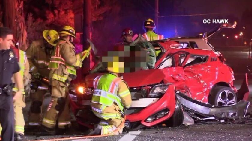 Costa Mesa woman pleads not guilty in car crash that killed a