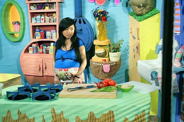 """By Robert Lloyd, Times TV Critic """"Food Party, a puppet-filled, cardboard-and-glitter surrealist cooking show (sort of), lasted only six episodes on IFC, about 10 minutes each, but was easily the most exciting thing I saw this year -- poetic, goofy, beautiful, strange."""
