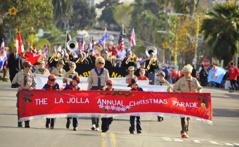 Thousands of spectators are expected to line the Girard Avenue parade route starting at 1:30 p.m., Dec. 6, 2015 for the 58th annual La Jolla Christmas Parade & Holiday Festival.
