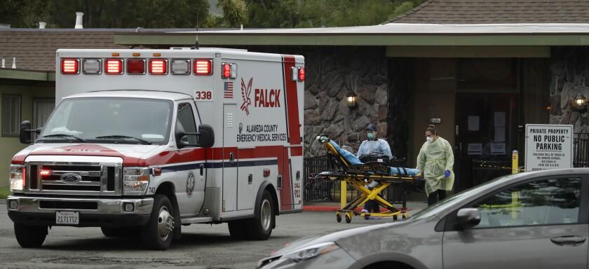Virus Outbreak California Nursing Homes