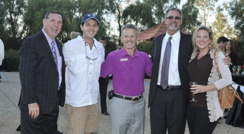 Bill Schraeder, Ron Epp, Gordon Cook, Darrin Fetterolf, Allison Epp (Photo: Rob McKenzie)