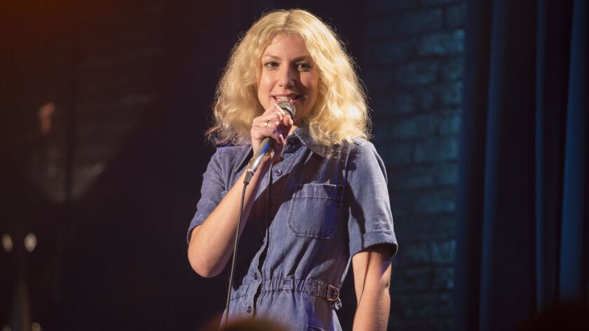 """Ari Graynor as Cassie in Showtime's I'm Dying Up Here."""" Credit: Justina Mintz / Showtime"""