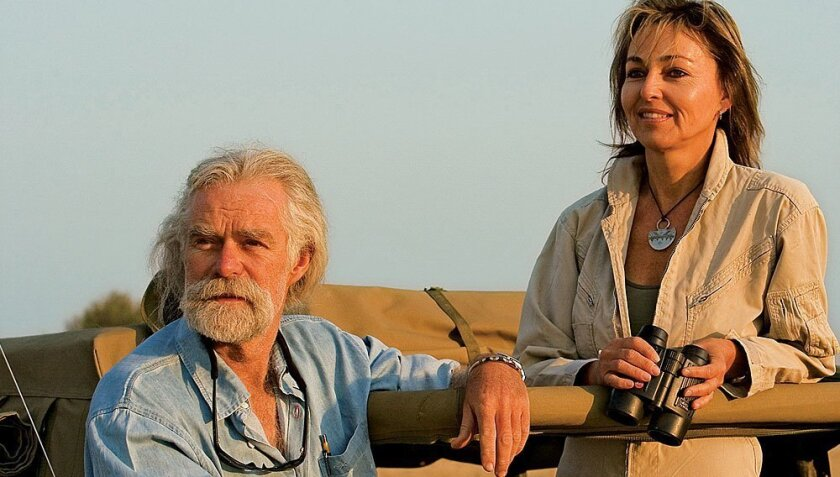 """High school sweethearts Dereck and Beverly Joubert have produced more than 20 films. """"The Last Lions"""" is their first theatrical release. Beverly Joubert"""