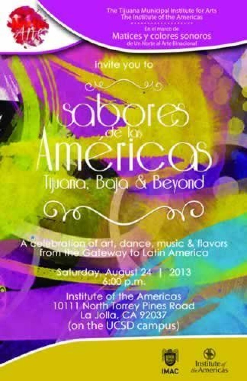 Institute of the Americas will bring 'Flavors of the Americas' to La Jolla on Aug. 24.