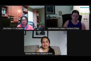Conversation with Rosayra Pablo Cruz & Julie Schwietert Collazo | El libro de Rosy