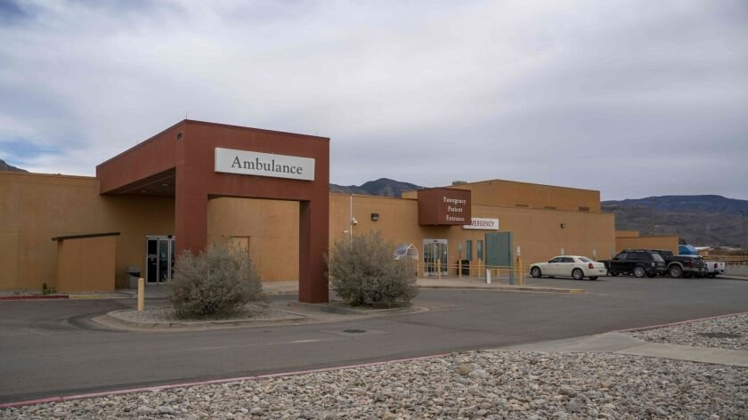 The Gerald Champion Regional Medical Center in Alamogordo, N.M., where U.S. Customs and Border Protection said an 8-year-old Guatemalan boy died late Christmas Eve while in custody of immigration authorities.