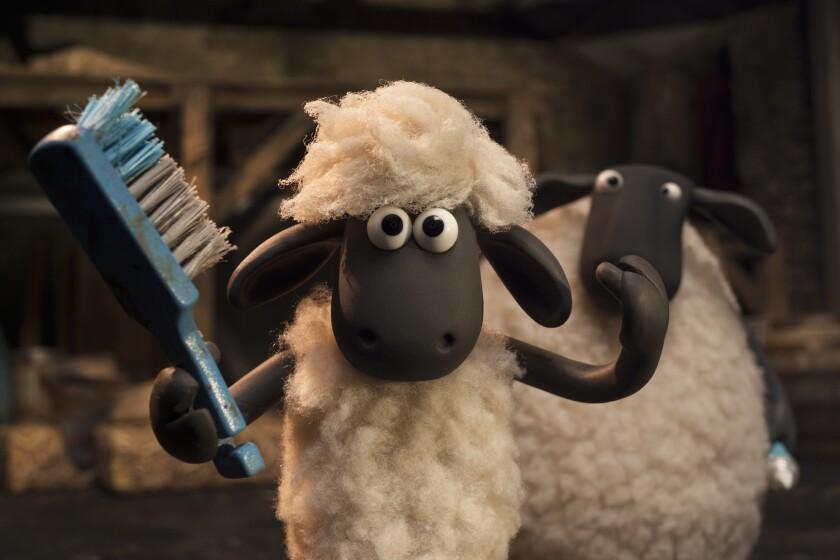 """Shaun in """"Shaun the Sheep."""""""