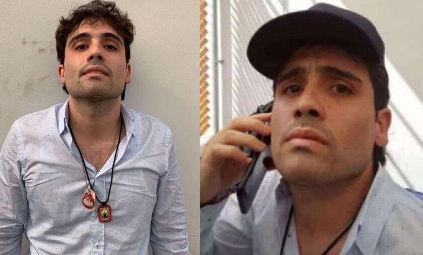 En el video dado a conocer por las autoridades mexicanas, se ve a Ovidio, hijo de El Chapo, haciendo una llamada telefonica, pidiéndole a sus fuerzas que detengan el operativo.