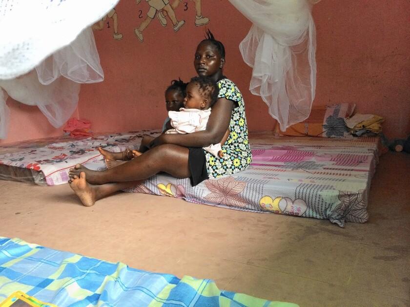 Ebola orphans in Liberia