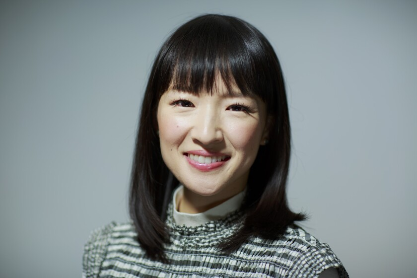 Marie Kondo poses for a portrait in West Hollywood, Calif., on Jan. 17, 2019.