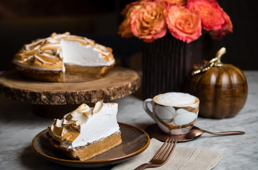 The Holidays kick off Friday at the Pendry San Diego when Provisional Kitchen, Café & Mercantile begins selling seasonal treats like sweet potato pumpkin pie.