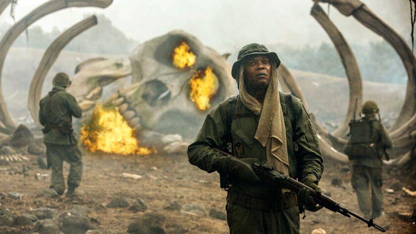 """Samuel L. Jackson in """"Kong: Skull Island."""""""