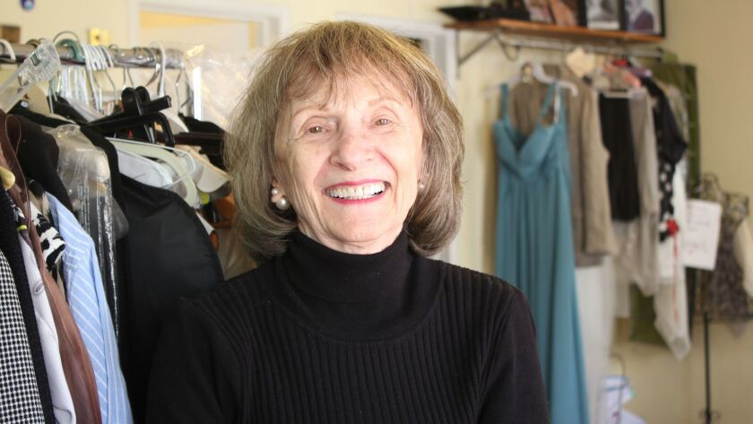 Kiki is a seamstress and owner at Kiki's Alterations, 7742 Herschel Ave.