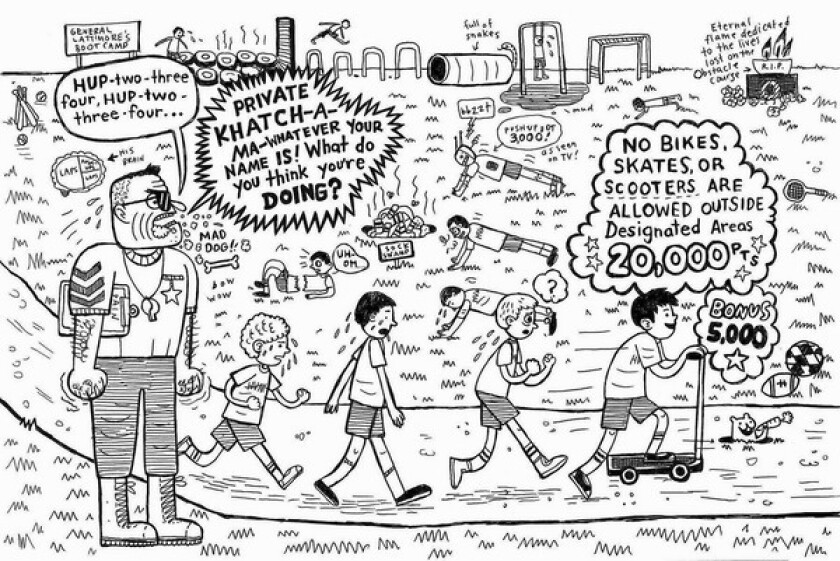 """Image From the book """"Middle School: The Worst Years of My Life"""" by James Patterson and Chris Tebbetts with illustrations by Laura Park"""