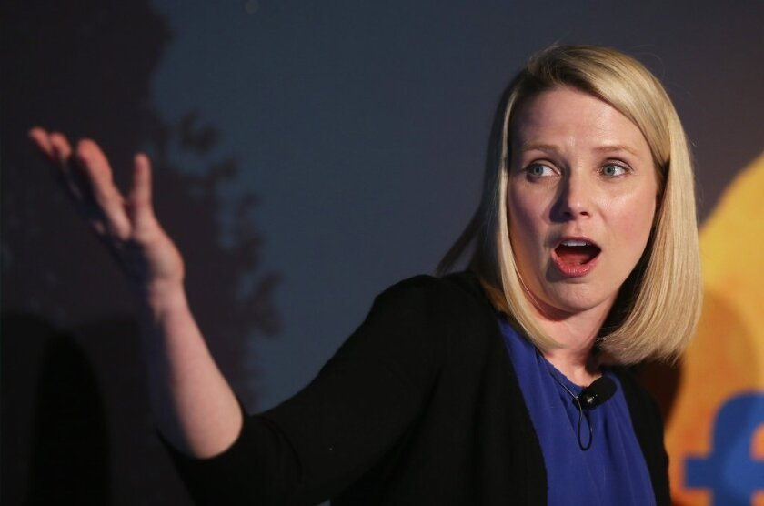Yahoo Chief Executive Marissa Mayer