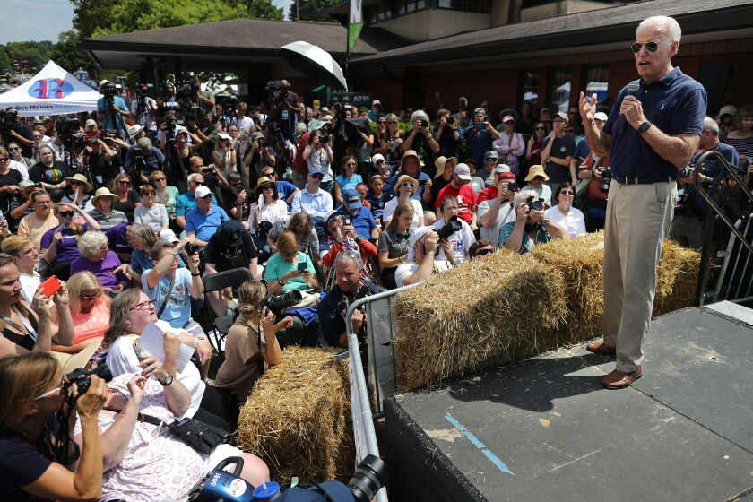 Presidential Candidates Hit The Soapbox At The Iowa State Fair