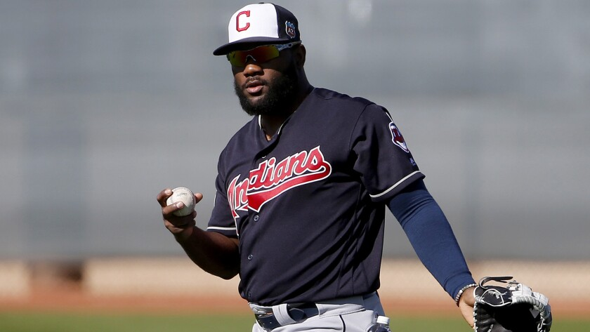 Indians' Abraham Almonte suspended 80 games by MLB after