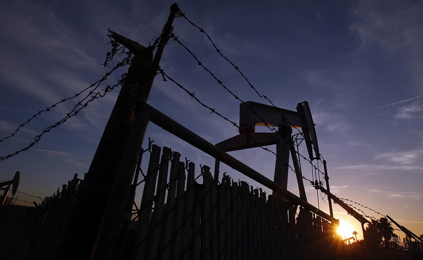 A proposed 9.5% tax on oil pumped from the ground in California has been put on hold.