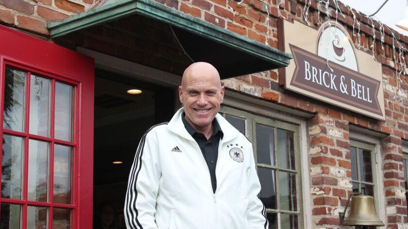 Peter Schumacher at Brick & Bell Café, 928 Silverado St. in the Village of La Jolla