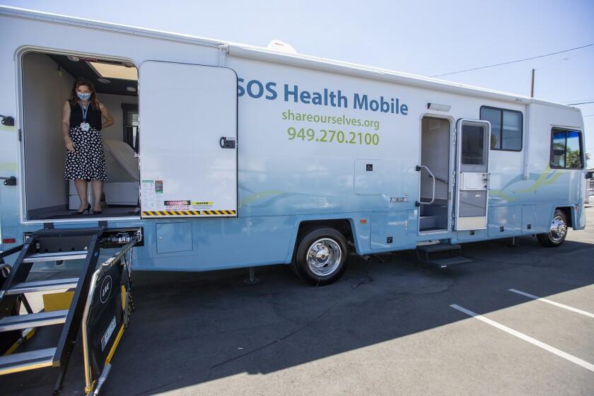 Share Our Shelves Community Health Mobile Unit