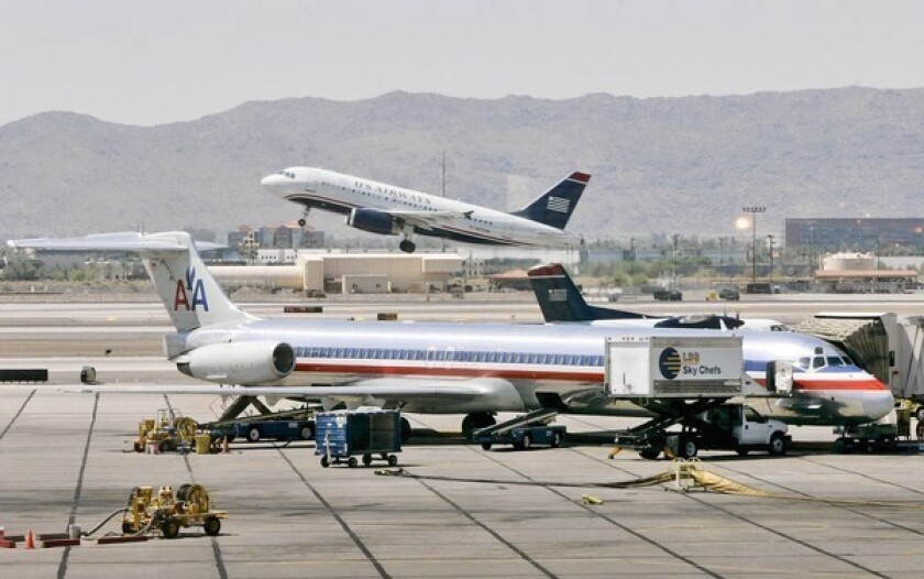 American, US Airways may merge to form giant airline