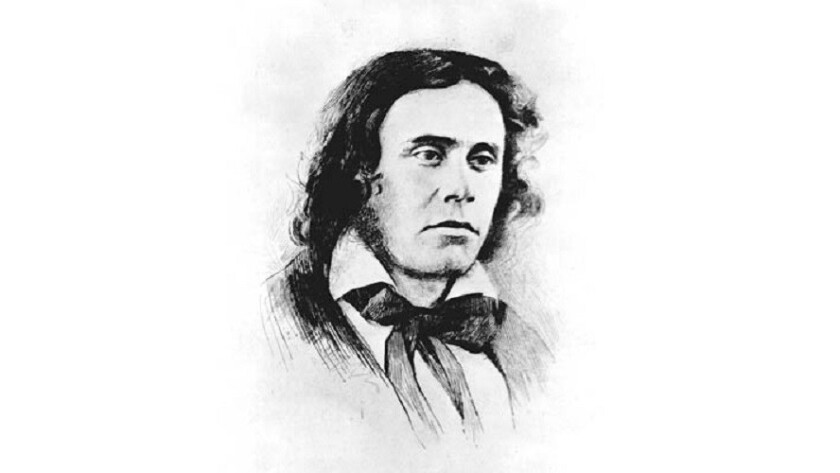 """Richard Henry Dana, best known as the author of the book """"Two Years Before the Mast,"""" was also a prominent New England attorney who included President Lincoln among his clients."""