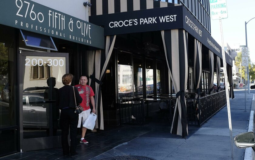 Croce's Park West, which moved to Bankers Hill two years ago after the original Croce's left downtown, is now history as well. A French bistro is expected to replace it.