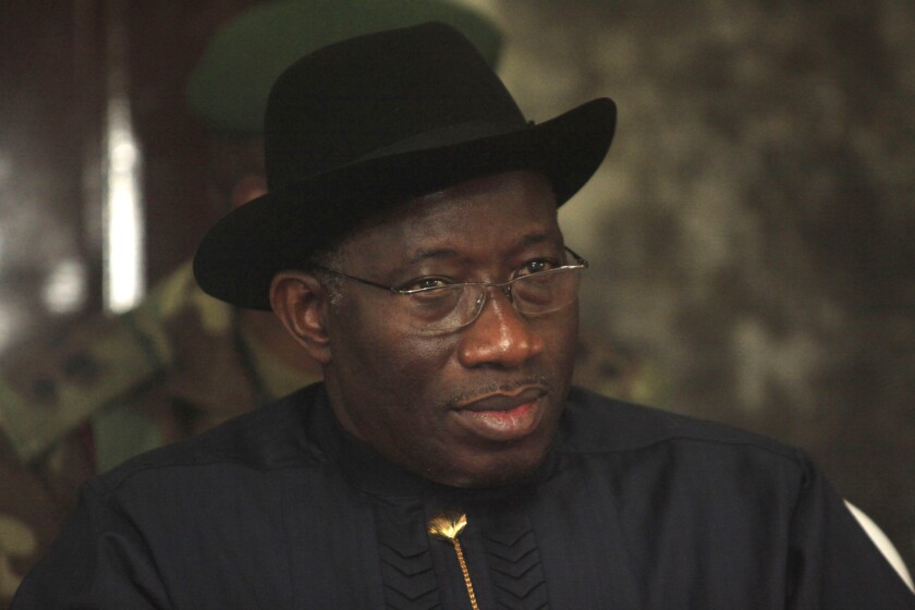"""Nigerian President Goodluck Jonathan quietly signed into law this month a parliamentary action banning same-sex marriage and imposing punishment as severe as 14 years in prison for anyone found to """"witness or abet"""" gay unions or organize public advocacy for gay rights."""