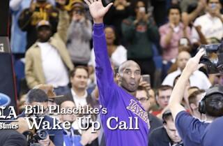 Bill Plaschke's Wakeup Call: Kobe finally becomes the mentor