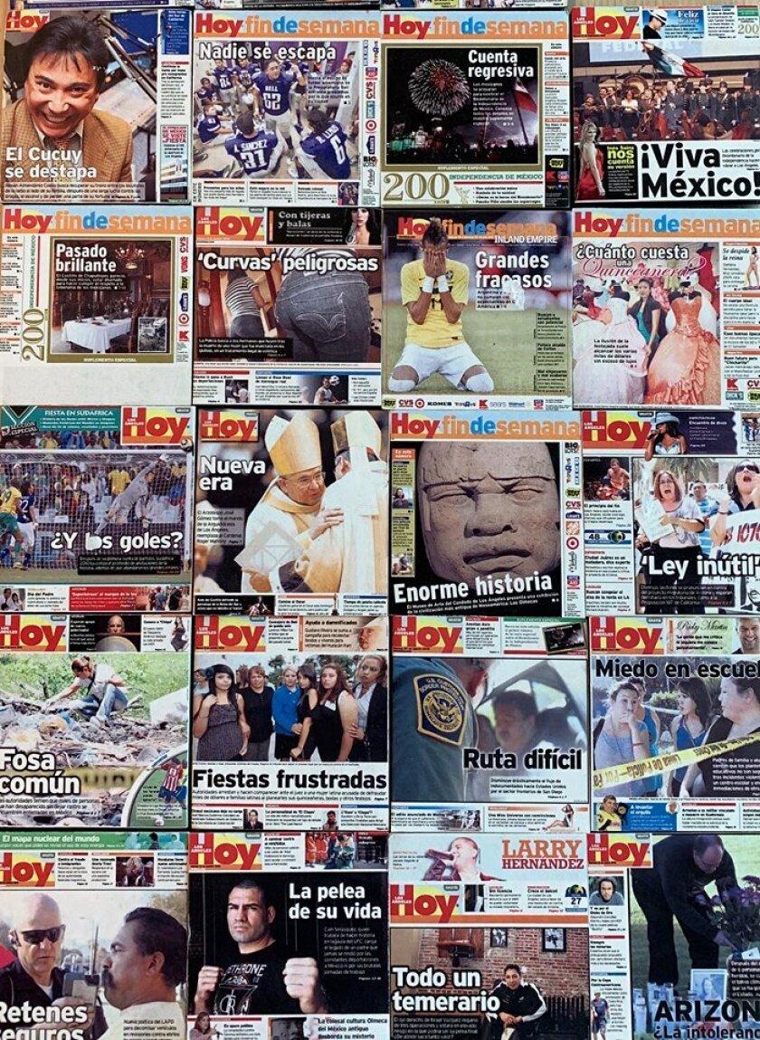 Después de 15 años, la edición impresa y electrónica de Hoy Los Angeles desaparecen para dar paso al principal proyecto en español de Los Angeles Times: latimes.com/espanol.
