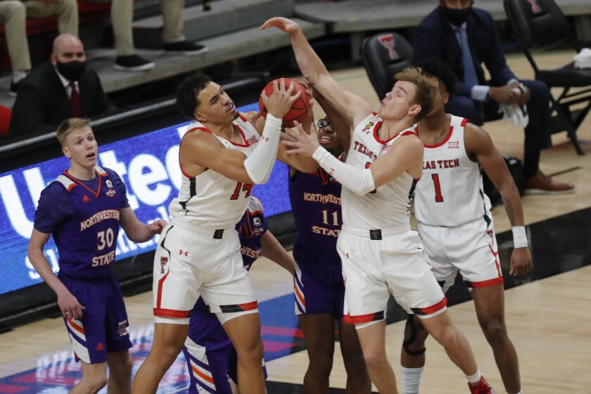 No 14 Texas Tech Opens With 101 58 Win Over Northwestern St The San Diego Union Tribune