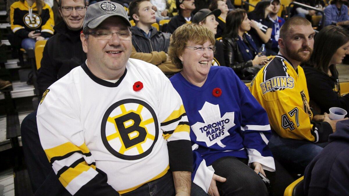 Bergeron Scores Winner Bruins Beat Leafs 3 1 The San Diego Union Tribune