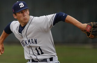 James Kaprielian is true ace pitcher for Beckman