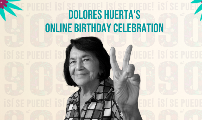 California proclama el 10 de abril como el Día de Dolores Huerta