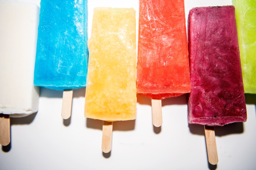 La Rosa Fruit Bars & Ice Creams in Bakersfield serves more than 26 different flavors.